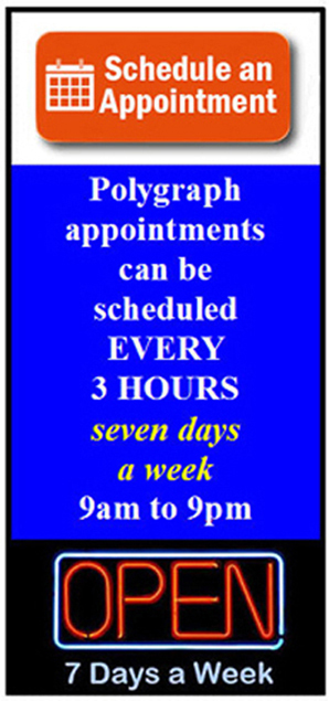 get the tuth with a polygraph exam in Yucaipa